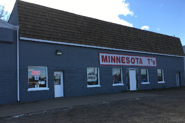 minnesota t's located in  brainerd minnesota wholesale screen printer, embroidery and promotional products.